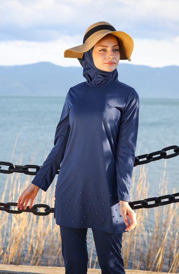 burkini azul marino 2