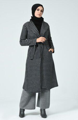 abrigo musulman gris