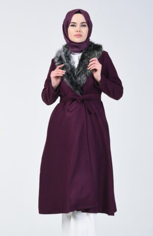 abrigo musulman morado