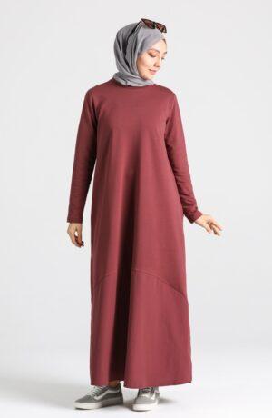vestido arabe rojo