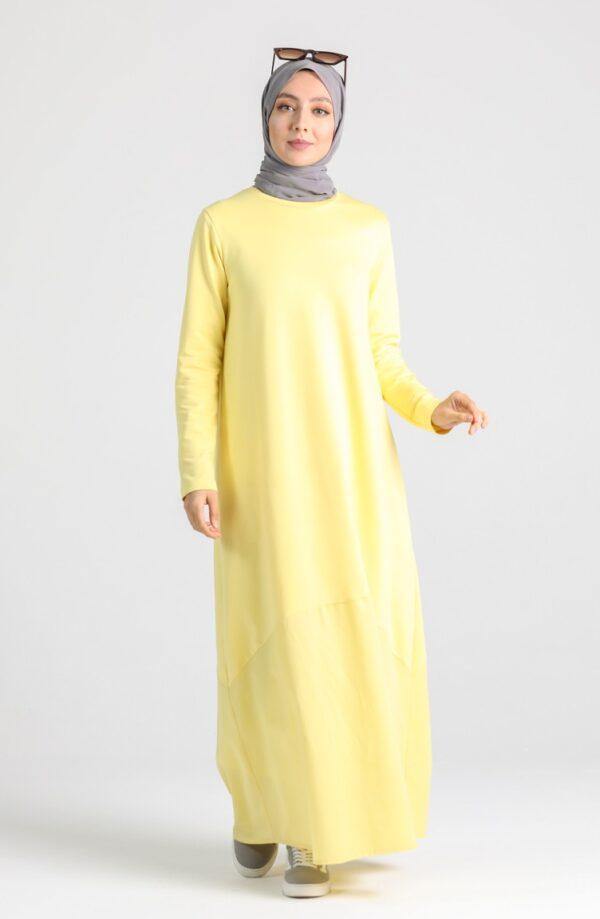 vestido musulman amarillo
