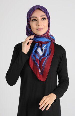 hijab arabe azul
