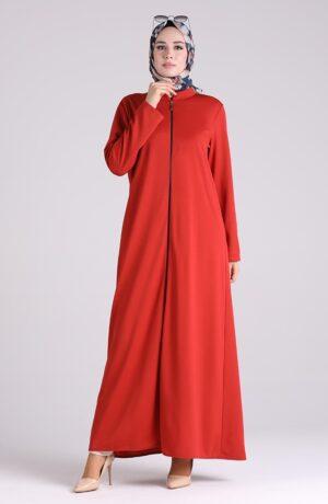 abaya arabe roja